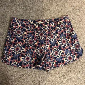 Loft printed shorts